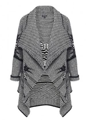 Jude Waterfall Knitted Cardigan
