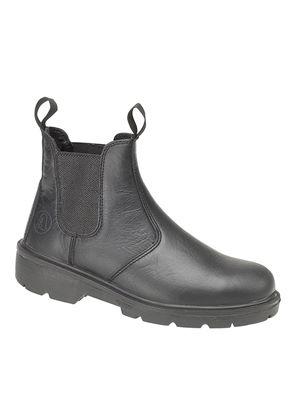 Unisex FS116 Steel Pull-On Dealer Boot in Black