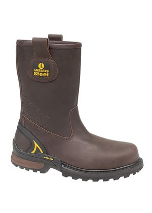 Mens FS211 Safety Rigger Boot in Brown