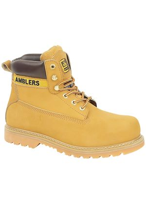 Unisex FS7 Steel Toe Cap Boot in Honey