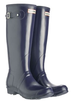 Ladies Hunter Original Wellington Boots in Navy