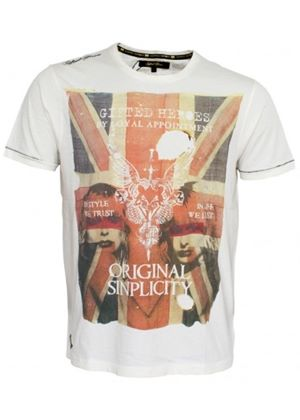 Original Simplicity T Shirt by Gifted Heroes