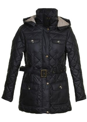 Liddesdale Quilted Jacket in Black
