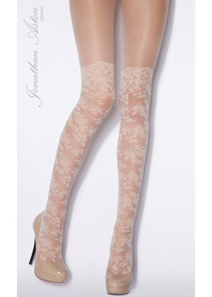 Romance patterned Tight in Brulee