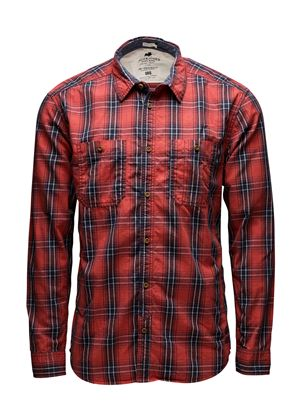 Campus Red Check Shirt