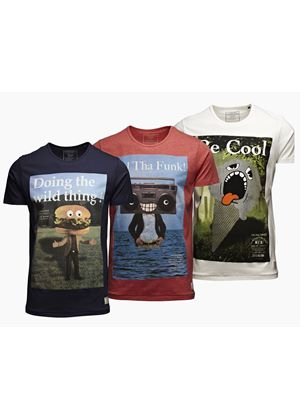 Originals Monster T Shirts in 3 Styles