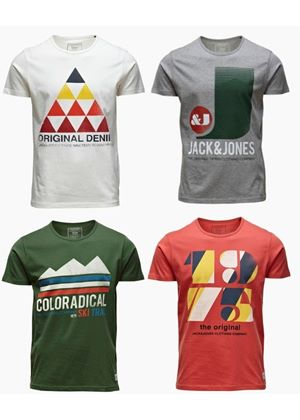 Handle T-Shirt In 4 Styles