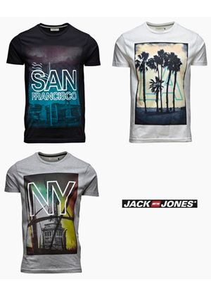 New City T-Shirt In 3 Styles
