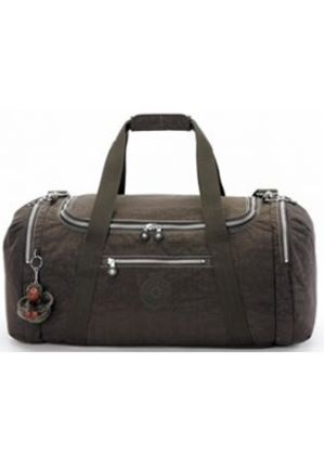 The Orio M Duffle Bag in Expresso Brown