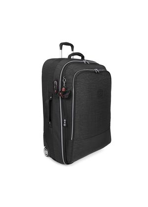 Yubin 76 Extra Large Expandable Trolley in Black