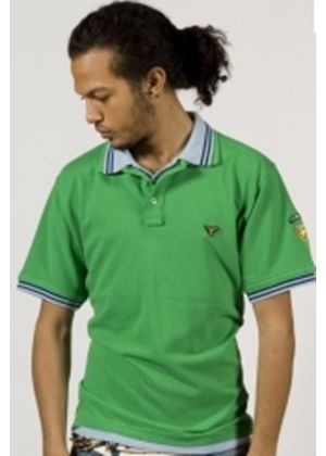 Double Damage Polo in Green