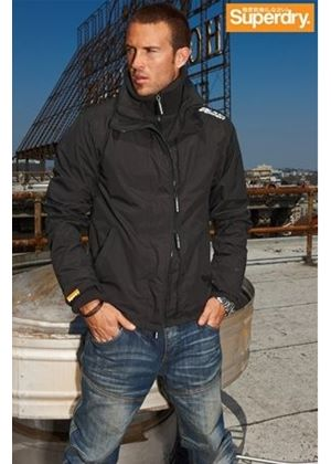 Black Windcheater Jacket