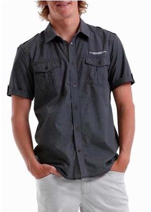 Sandy Beach Short Sleeved  Shirt