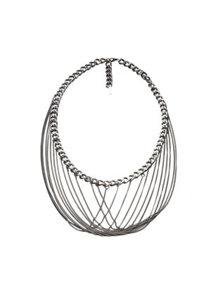 Ladies Multi Hanging Chain Necklace