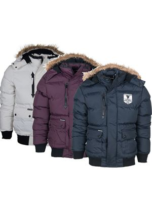Quilted Bomber Jacket in 3 Colours