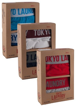 Huck Sport Boxers 2 Pack Gift Box in 3 Colours