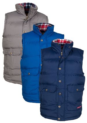 Clifton Mens Gilet in 3 Colours
