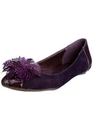 Kate Feathered Flat by Traffic People