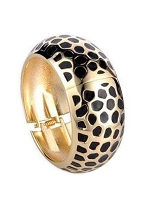LovingtheBead  Alloy & Gold Plated Bangle