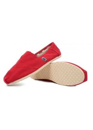 Kennedy Espadrille in Red