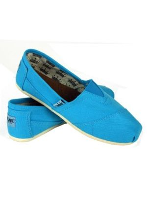 Kennedy Espadrille in Turquoise (Sky Blue)