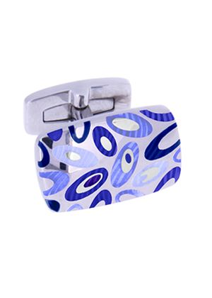 Men's 'Psyche' Cufflinks in Blue