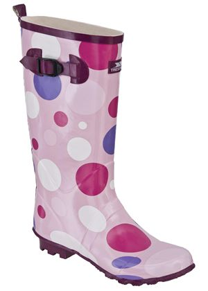 Polka Ladie's Welly Boot