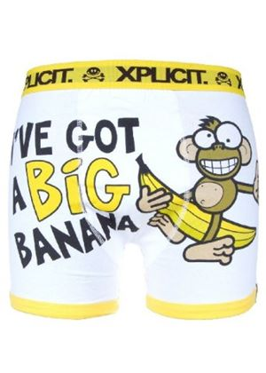 Mens Big Banana Boxer Shorts