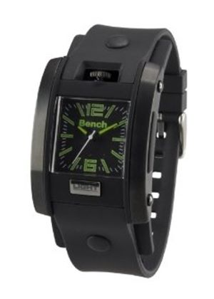 Bench Men's Quartz Analogue Watch BC0367BKA with Black Strap