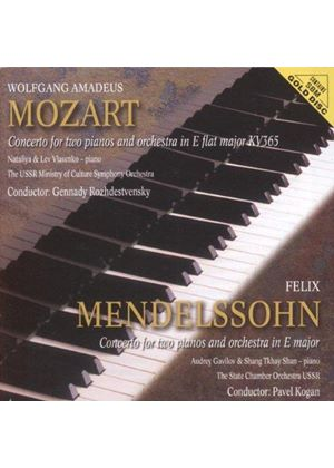 MOZART & MENDELSSOHN - CONCERTO FOR 2 PIANOS