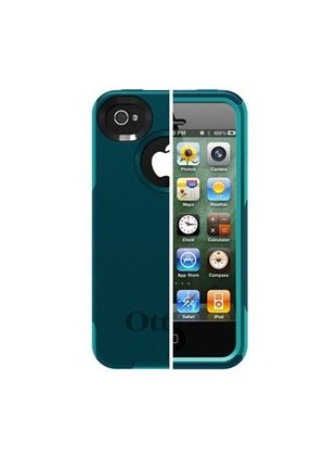 OtterBox Commuter Case for Apple iPhone 4S - Deep Teal PC/Light Teal IMS