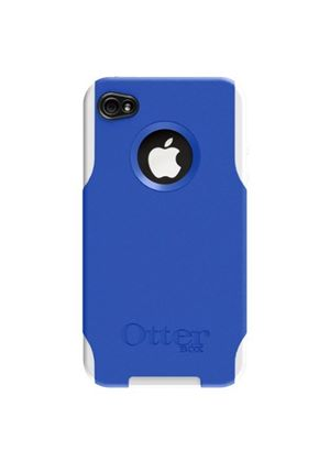 Otterbox Commuter Case for Apple iPhone 4 - White/Blue