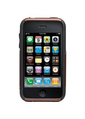 OtterBox for Apple iPhone 3G/3GS Commuter Case -  Burgundy