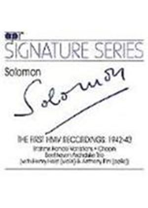 Solomon: The First HMV Recordings 1942-3