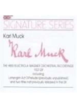 Karl Muck conducts Wagner