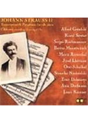 Johann Strauss II - Transcriptions and Paraphrases for solo Piano