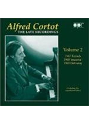 Alfred Cortot - The Late Recordings, Vol 2