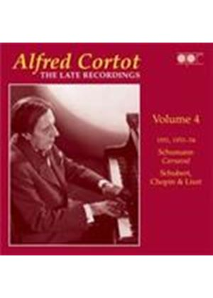 Alfred Cortot - Late Recordings, Vol 4 (Music CD)