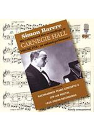 Various Composers - Live At Carnegie Hall - Vol. 5 (Barere) (Music CD)