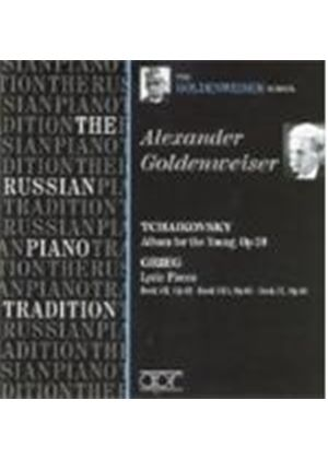 TCHAIKOVSKY/GRIEG - Album For The Young/Lyric Pieces (Goldenweiser)