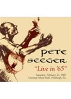 Pete Seeger - Live In '65 (Music CD)