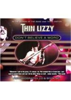 Thin Lizzy - Don't Believe A Word (+Book) (Music CD)