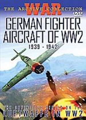 German Fighter Aircraft Of WW2 - 1939 - 1942