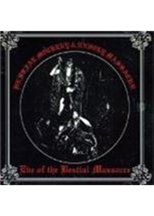 Bestial Mockery / Unholy Massacr - Eve Of The Bestial Massacre (Music Cd)