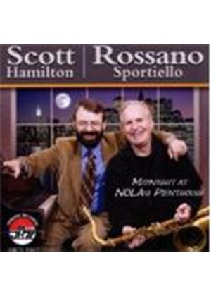 Scott Hamilton & Rossano Sportiello - Midnight At Nola's Penthouse (Music CD)
