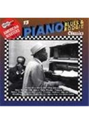 Various Artists - Arhoolie American Masters Vol.8 (15 Piano Blues & Boogie Classics)