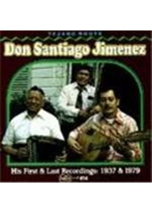 Don Santiago Jimenez - His First And Last Recordings