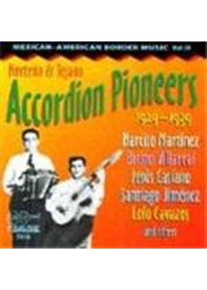 Various Artists - Mexican-American Border Music Vol.3 (Norteno & Tejano Accordion Pioneers)