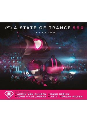 Armin van Buuren - State of Trance 550 (Mixed by Armin van Buuren) (Music CD)