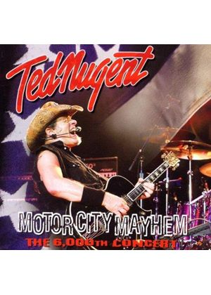 Ted Nugent - Motor City Mayhem (Live Recording) (Music CD)